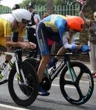 Olympische tijdproeven 2012 Stock Afbeeldingen