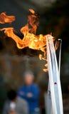 Olympische toortsen Royalty-vrije Stock Foto