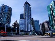Olympische Toortsen in Vancouver Stock Afbeelding
