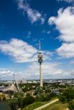 Olympische Toren München Stock Afbeeldingen