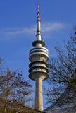 Olympische toren München Royalty-vrije Stock Foto's