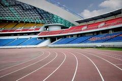 Olympische Tribune Stock Foto's