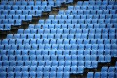 Olympische tribunezetels Stock Afbeelding