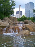 Olympischer centenial Park Lizenzfreies Stockfoto