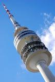 Olympischer Kontrollturm - München   Stockfotos