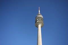 Olympischer Kontrollturm in München stockfotos