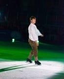Olympischer Meister in der Abbildung Eislauf Alexei Yagudin. Lizenzfreie Stockfotos