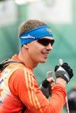 Olympischer Meister Evgeny Ustyugov Lizenzfreies Stockfoto
