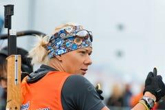 Olympischer Meister Olga Zaitseva Stockfotografie