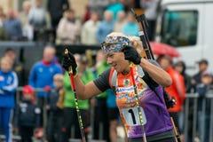 Olympischer Meister Olga Zaitseva Lizenzfreies Stockfoto