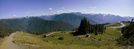 Olympischer Nationalpark, Panorama stockfoto