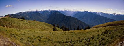 Olympischer Nationalpark, Panorama Stockfotos