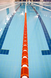 Olympischer Swimmingpool Stockbild