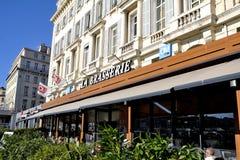 Olympisches De Marseille OM der Brauerei Stockbilder