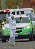 Olympisches Fackelrelais, Spiele 2010 Lizenzfreie Stockbilder