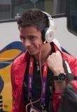 Olympisches Fußballteam Diego-Reyes Mexiko Lizenzfreies Stockfoto