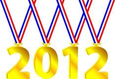 Olympisches Jahr Lizenzfreies Stockbild
