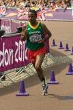 Olympisches Marathon 2012 Lizenzfreie Stockbilder