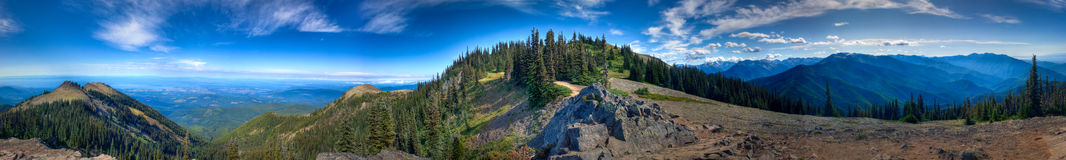 Olympisches Nationalpark-Panorama stockbilder