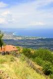 Olympisches Riviera, Griechenland Stockbilder