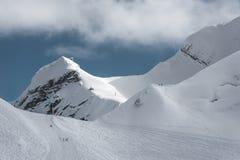 Olympisches Skiort, Krasnaya Polyana, Sochi, Russland Lizenzfreies Stockbild