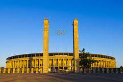Olympisches Stadion Berlin Stockbild