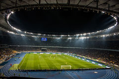 Olympisches Stadion in Kiew stockfoto