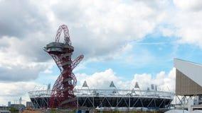 Olympisches Stadion in London Stockbild