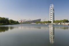 Olympisches Stadion von Peking Stockfoto