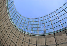 Olympisches Stadiondachdetail in Berlin Lizenzfreie Stockfotografie