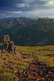 Olympisk bergskedja, Washington State Arkivbild