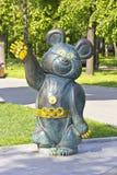 Olympisk björn Fotografering för Bildbyråer