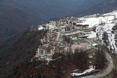 Olympisk by för berg Royaltyfri Fotografi