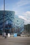 Olympisk isbergstadion parkerar formeln 1 2014 Royaltyfri Bild
