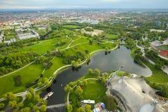 Olympisk park Munich Royaltyfri Foto