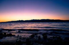 Olympisk solnedgång Fotografering för Bildbyråer