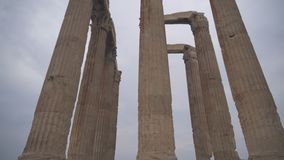 olympisk tempelzeus lager videofilmer