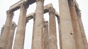 olympisk tempelzeus stock video