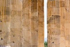 olympisk tempelzeus Arkivfoto