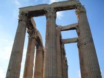 olympisk tempelzeus Arkivbild