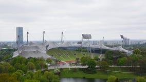 Olympiska spelmunich olympia parkerar bavaria spelar 1972 royaltyfri bild