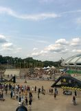 Olympiska Stadiun Royaltyfri Foto