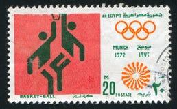 Olympiskt emblem fotografering för bildbyråer