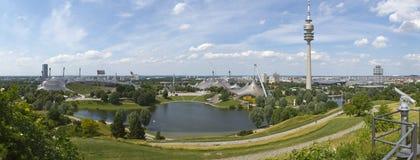 Olympiskt parkera av Munich Royaltyfri Bild
