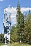 Olympiskt parkera i Park City, Utah Royaltyfria Bilder