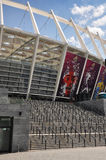 Olympiyskiy Stadion, Kyiv Stockfoto