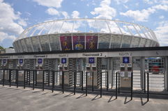 Olympiyskiy Stadium, Kyiv Royalty Free Stock Images