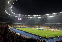 Olympiysky体育场 免版税库存图片