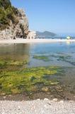 Olympos海滩,土耳其 免版税库存图片