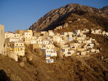 Olympos. Village Olympos in Greek Island of Karpathos Royalty Free Stock Image